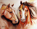 EQUINE POWER ~ by M BALDWIN (thumbnail)
