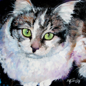 MINI TABBY with SMALL EASEL (thumbnail)