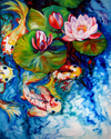 KOI POND & WATERLILY (thumbnail)
