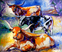 THREE LONGHORNS (thumbnail)