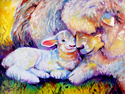 Painting--Oil-AnimalsBABY