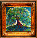 GREEN TREE RED by M BALDWIN (thumbnail)