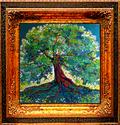 GREEN TREE RED by M BALDWIN (thumbnail)