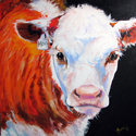 MOO ME COW by M BALDWIN (thumbnail)