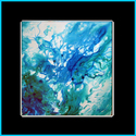 BLUE LAGOON KOI 3 by M BALDWIN (thumbnail)