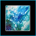 BLUE LAGOON KOI 3 by M BALDWIN (thumbnail)