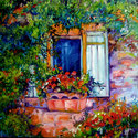SHUTTERS & VINES by M BALDWIN (thumbnail)