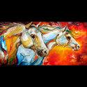 EQUINE BLAZE by M BALDWIN (thumbnail)