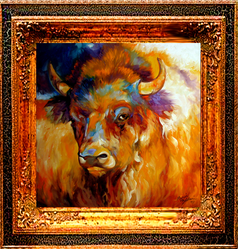 BUFFALO BOLD by M BALDWIN (large view)