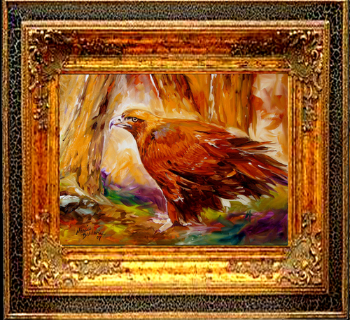 GOLDEN EAGLE by M BALDWIN (large view)