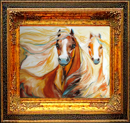 SUNDANCE & MOONBEAM by M BALDWIN (large view)