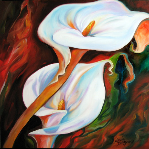 GRACE CALLA LILY by M BALDWIN (large view)