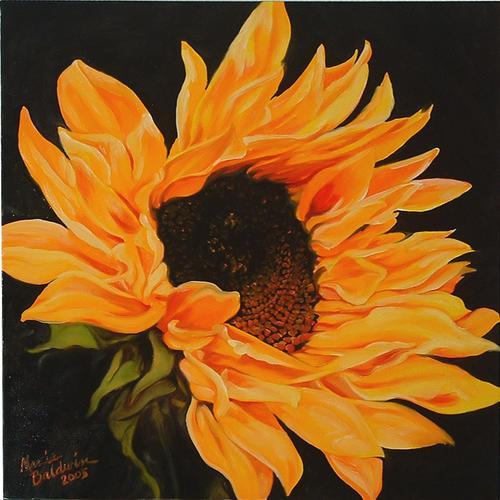 Painting-Sunflower