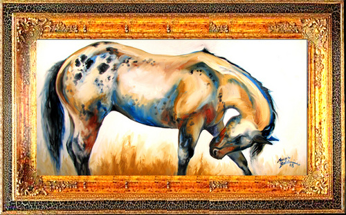 APPALOOSA ~ EQUINE ART ORIGINAL (large view)