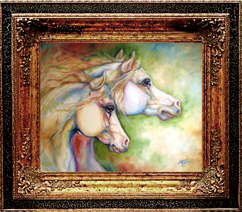 GENTLE SPIRITS EQUINE ART (large view)