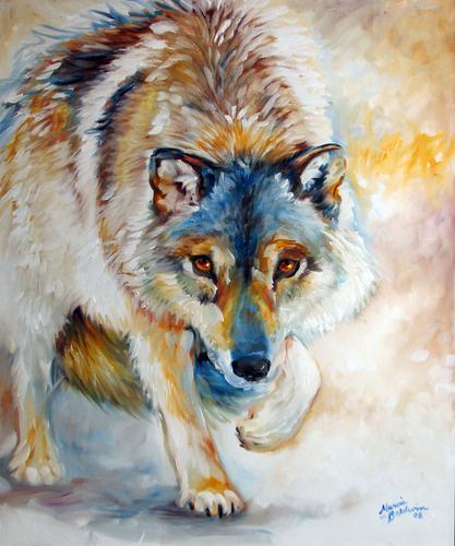 LONE WOLF II by M BALDWIN (large view)