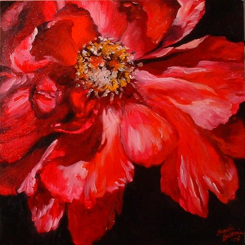 Red Peony (large view)