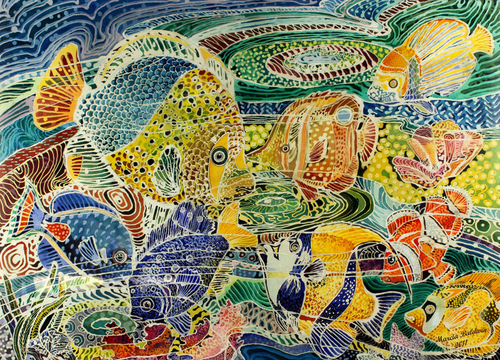 TROPICAL SLENDOR BATIK (large view)