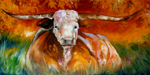 LONGHORN COOL by M BALDWIN (thumbnail)