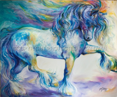 MY GYPSY VANNER THRILL (large view)