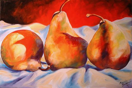 Pear Shadows Three (large view)