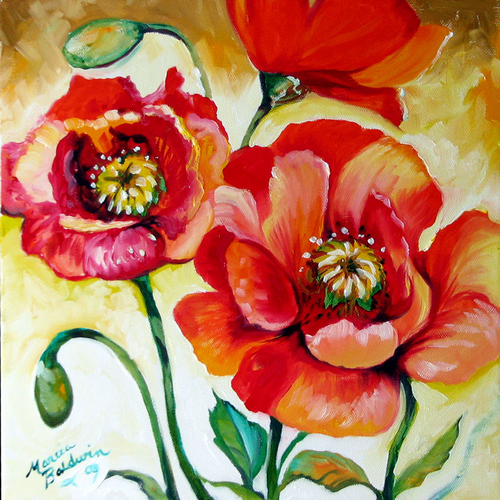 Poppy O Three by M BALDWIN (large view)