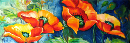 DANCE of the POPPIES by M BALDWIN