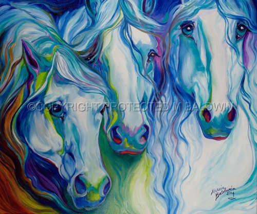 THREE SPIRITS EQUINE (large view)
