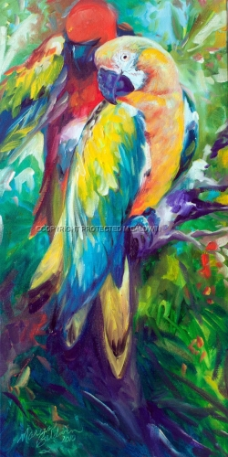 MACAW PAIR 2412 (large view)