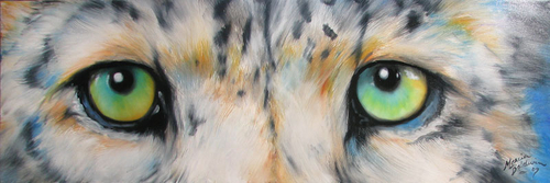 SNOW LEOPARD EYES (thumbnail)