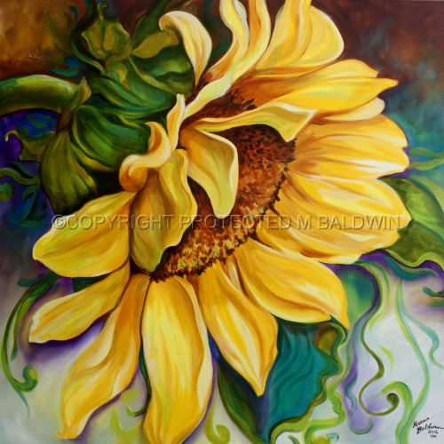 SUNFLOWER SUNSHINE (large view)