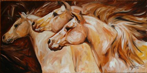THREE HORSE RUN (thumbnail)