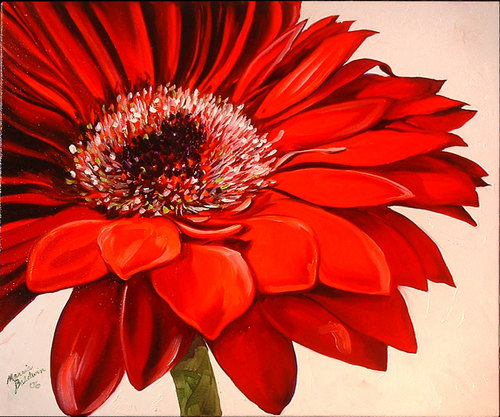 RED DAISY IV (large view)
