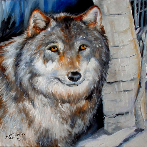 WINTER WOLF (large view)