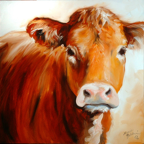 Painting-COW 1818