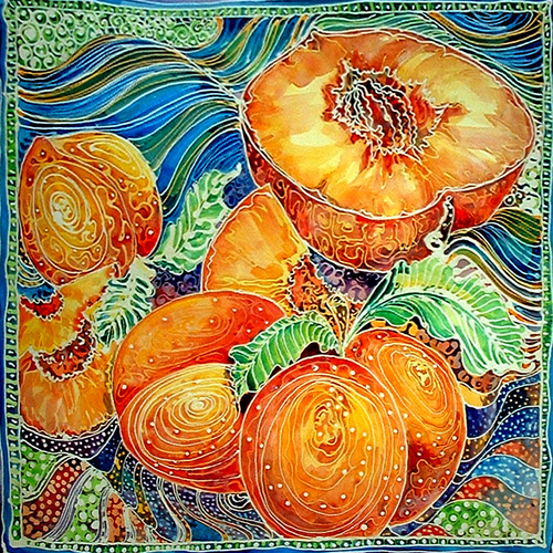 PEACHES BATIK I (large view)