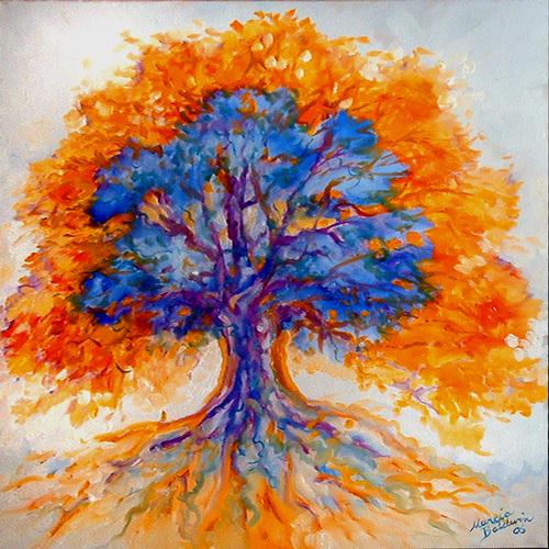 TREE OF LIFE III - BIRTH (large view)