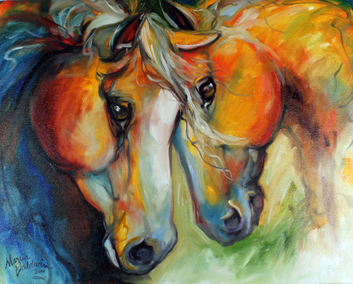 COMPANIONS EQUINE ART (large view)