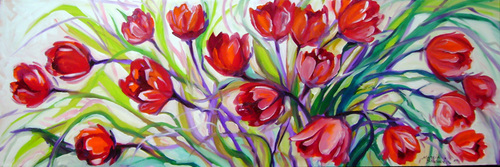 TULIP ABSTRACT ~ 36
