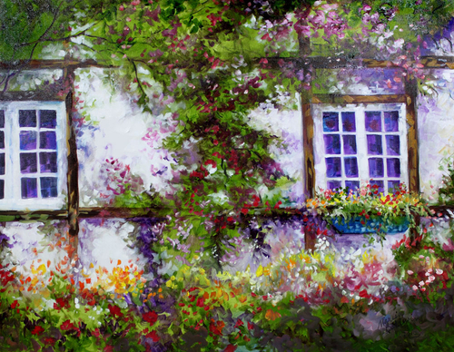 ENGLISH GARDEN COTTAGE (large view)