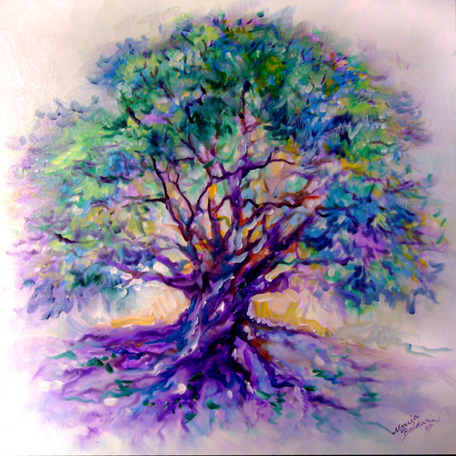 Tree of Life Series ~ PurpleRain (large view)