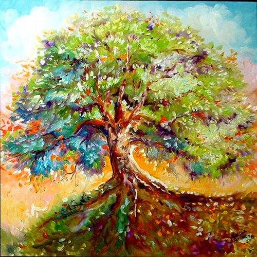 TREE OF LIFE VIII (large view)