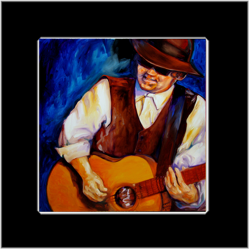 BLUES MAN by M BALDWIN ~ MAY 16 (large view)