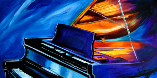 JAZZ PIANO by M BALDWIN (thumbnail)