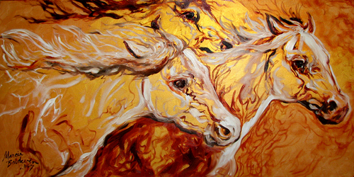 ABSTRACT EQUINE THREE