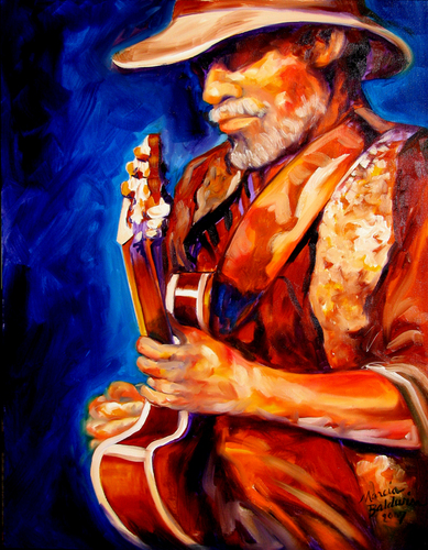 GUITAR MAN by M BALDWIN ~ MAY 19 (large view)