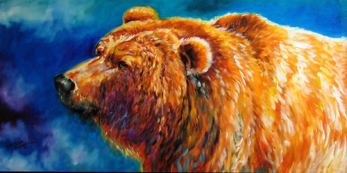 BEAR by M BALDWIN (thumbnail)