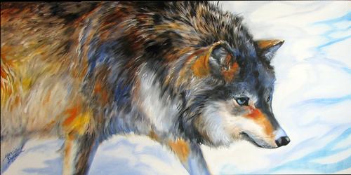 GREY WOLF (thumbnail)