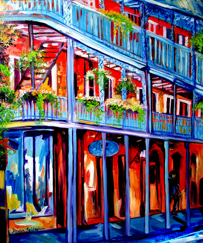 NEW ORLEANS BALCONIES (large view)