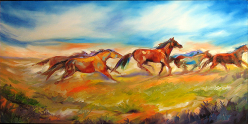OPEN RANGE by M BALDWIN (thumbnail)